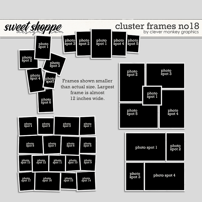 Cluster Frames No18 by Clever Monkey Graphics