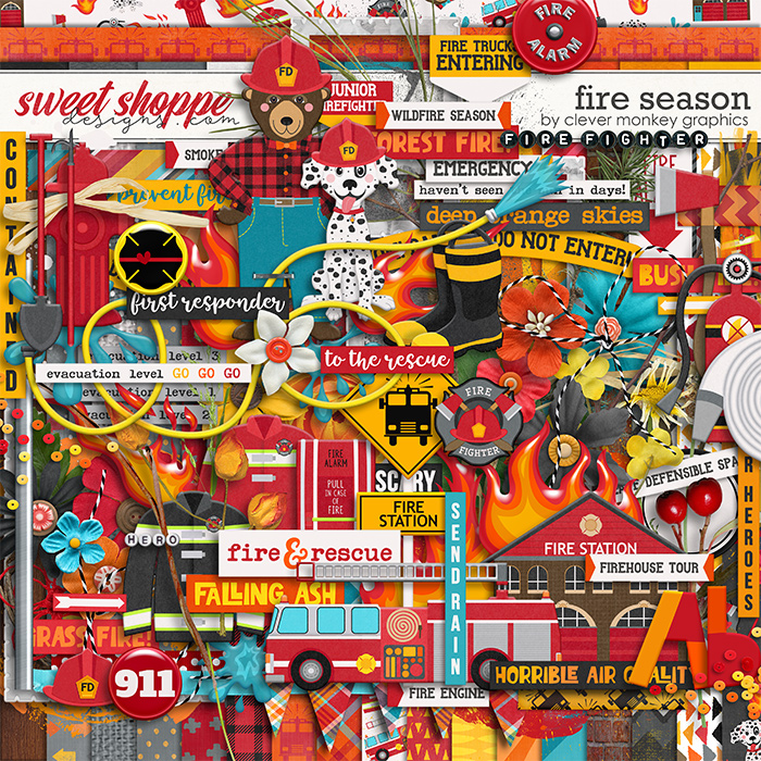 Fire Season by Clever Monkey Graphics