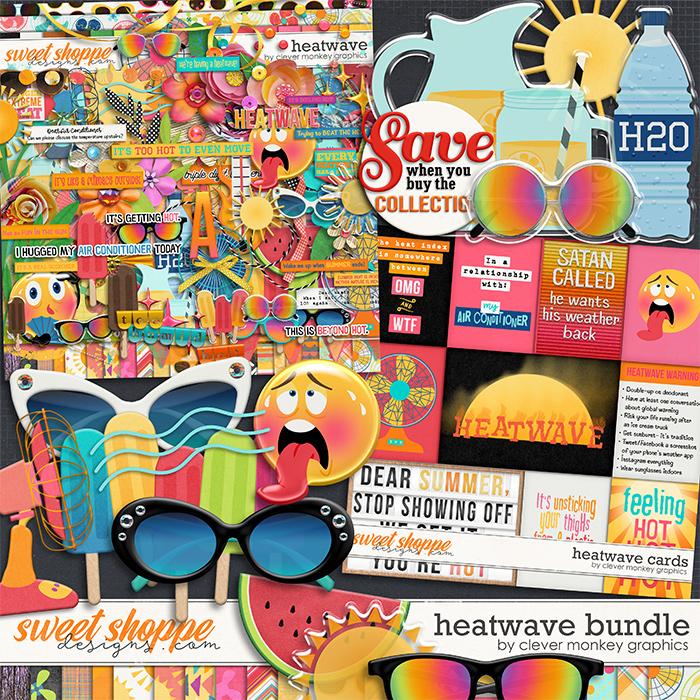 Heatwave Bundle by Clever Monkey Graphics