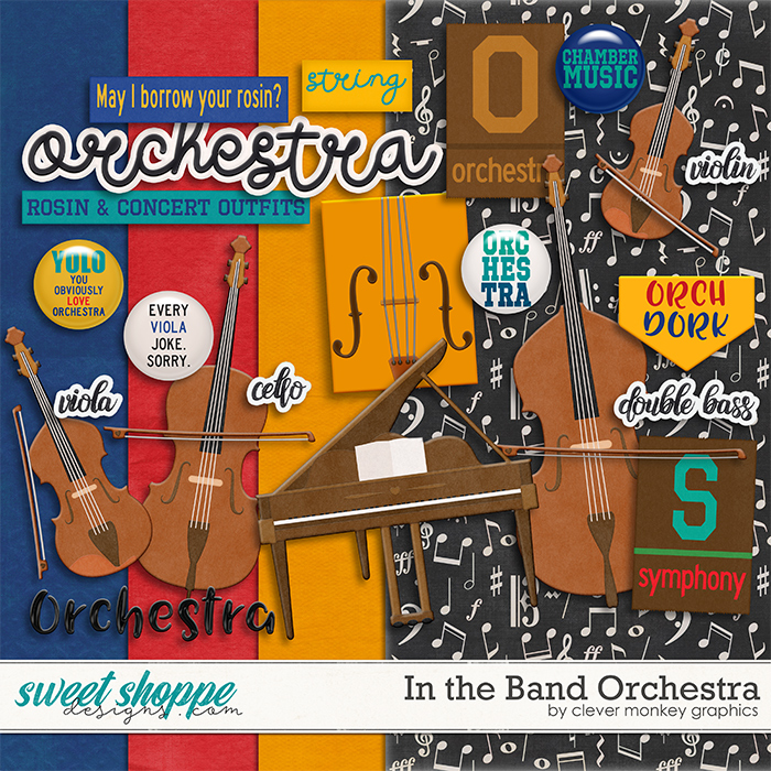 In the Band Orchestra by Clever Monkey Graphics