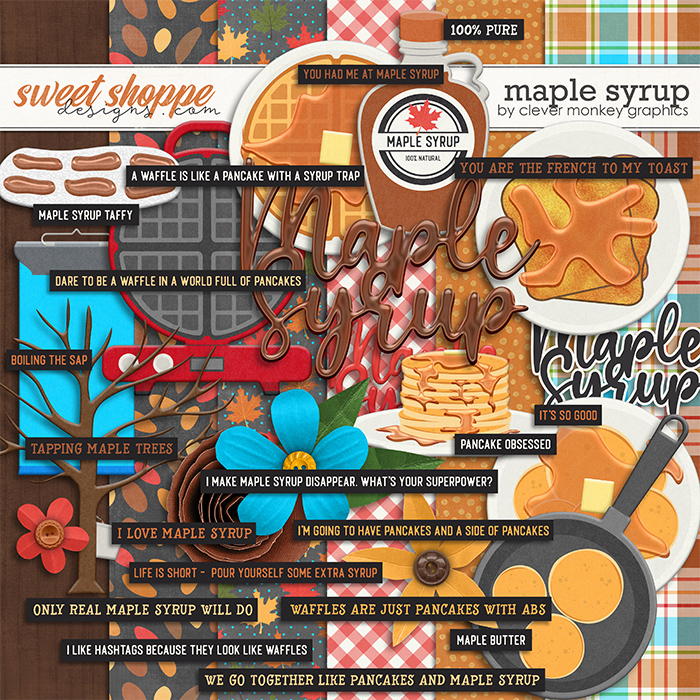 Maple Syrup by Clever Monkey Graphics