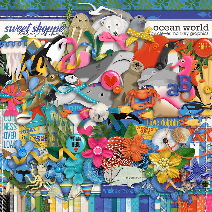 Ocean World by Clever Monkey Graphics
