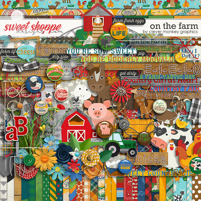On the Farm by Clever Monkey Graphics