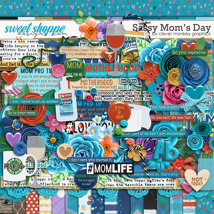 Sassy Mom's Day by Clever Monkey Graphics