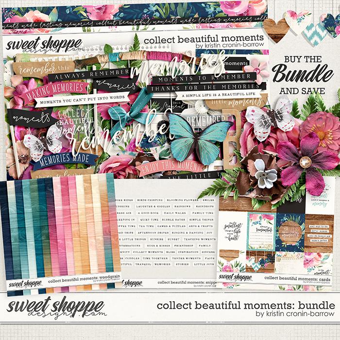 Collect Beautiful Moments: Bundle by Kristin Cronin-Barrow