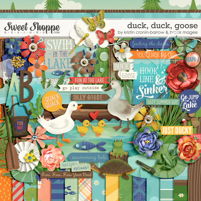 Duck, Duck, Goose by Kristin Cronin-Barrow and Brook Magee