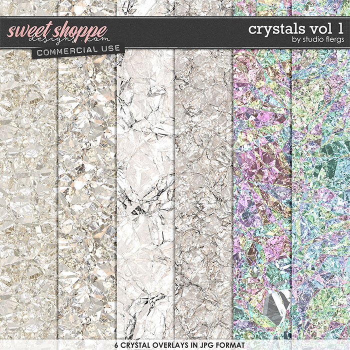 Crystals VOL 1 by Studio Flergs
