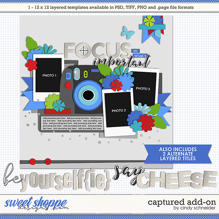 Cindy's Layered Templates - Captured Add-on by Cindy Schneider