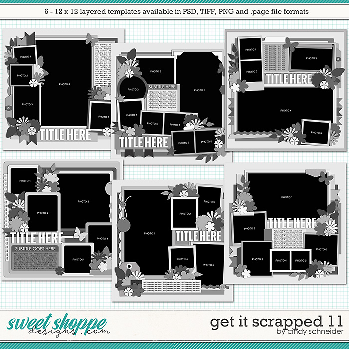 Cindy's Layered Templates - Get It Scrapped 11 by Cindy Schneider