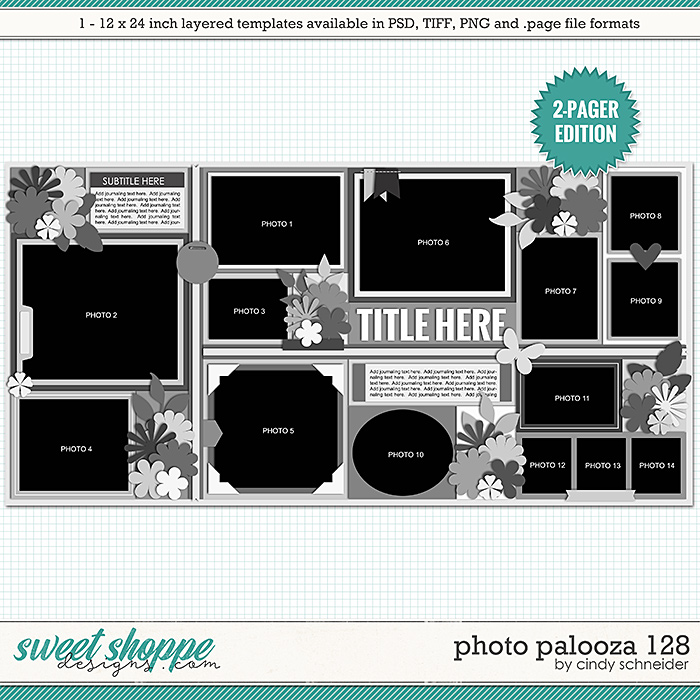 Cindy's Layered Templates - Photo Palooza 128 by Cindy Schneider
