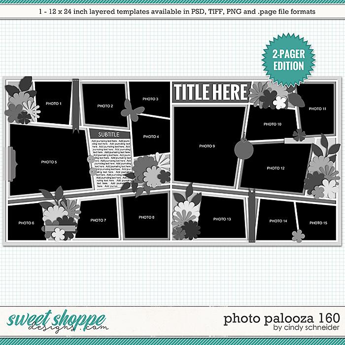 Cindy's Layered Templates - Photo Palooza 160 by Cindy Schneider