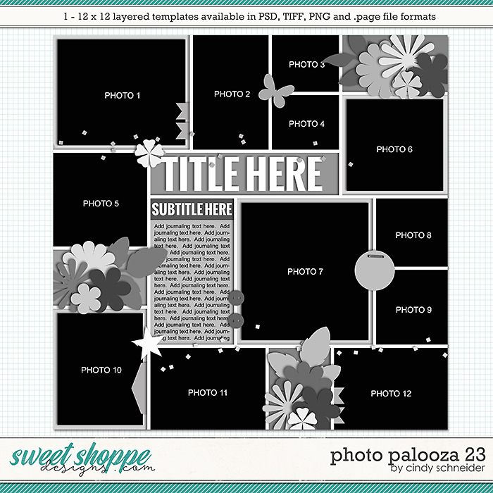 Cindy's Layered Templates - Photo Palooza 23 by Cindy Schneider