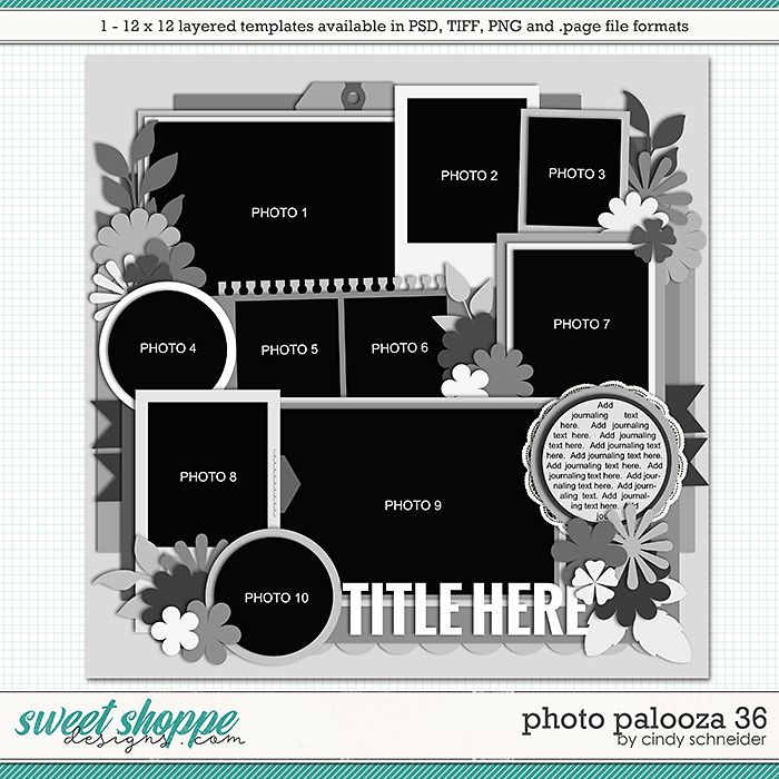 Cindy's Layered Templates - Photo Palooza 36 by Cindy Schneider
