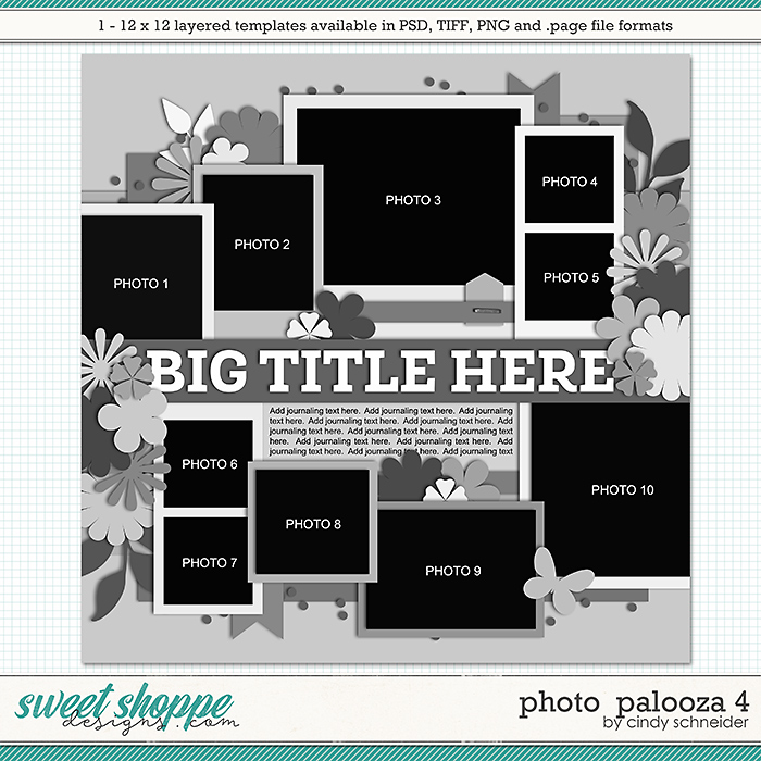 Cindy's Layered Templates - Photo Palooza 4 by Cindy Schneider