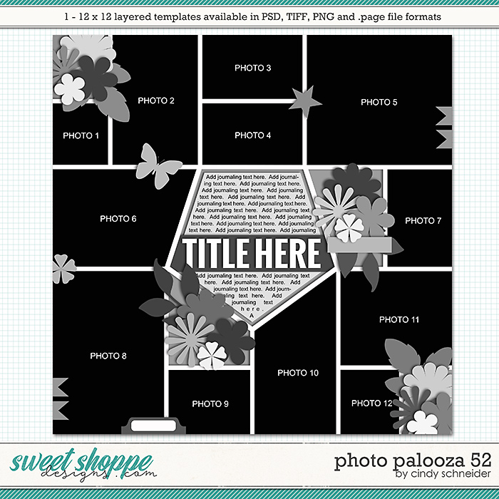 Cindy's Layered Templates - Photo Palooza 52 by Cindy Schneider