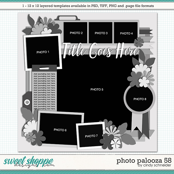 Cindy's Layered Templates - Photo Palooza 58 by Cindy Schneider