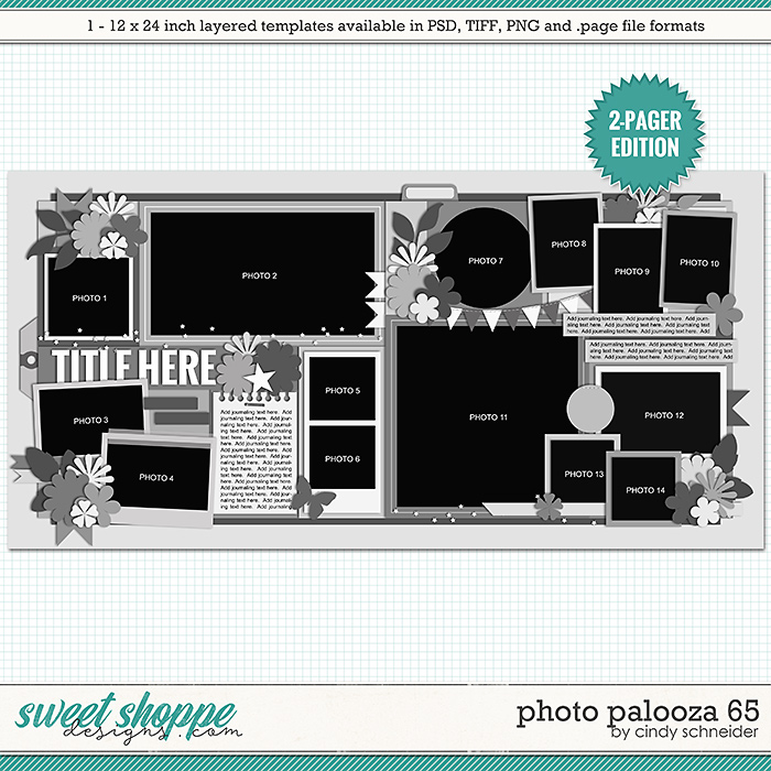 Cindy's Layered Templates - Photo Palooza 65 by Cindy Schneider