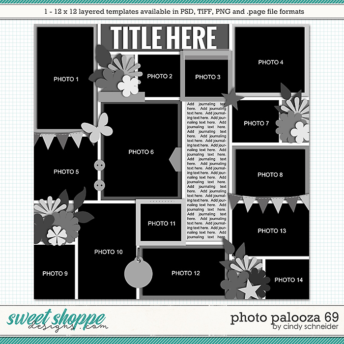 Cindy's Layered Templates - Photo Palooza 69 by Cindy Schneider