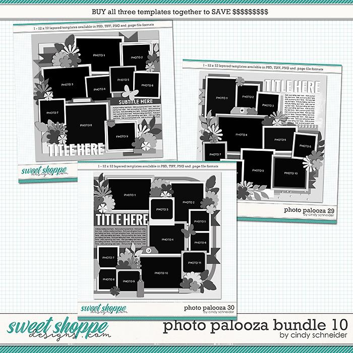 Cindy's Layered Templates - Photo Palooza Bundle 10 by Cindy Schneider