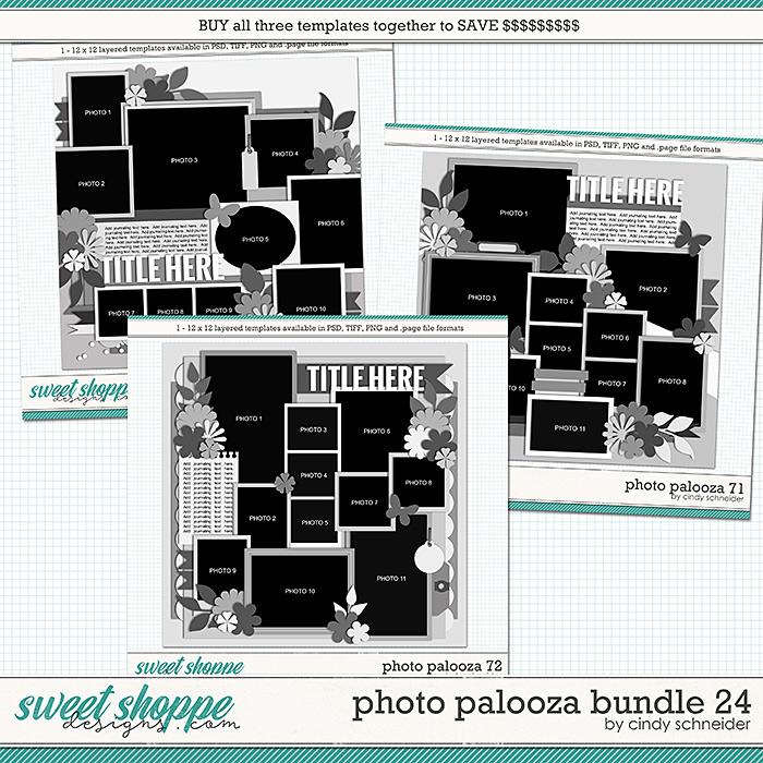Cindy's Layered Templates - Photo Palooza Bundle 24 by Cindy Schneider