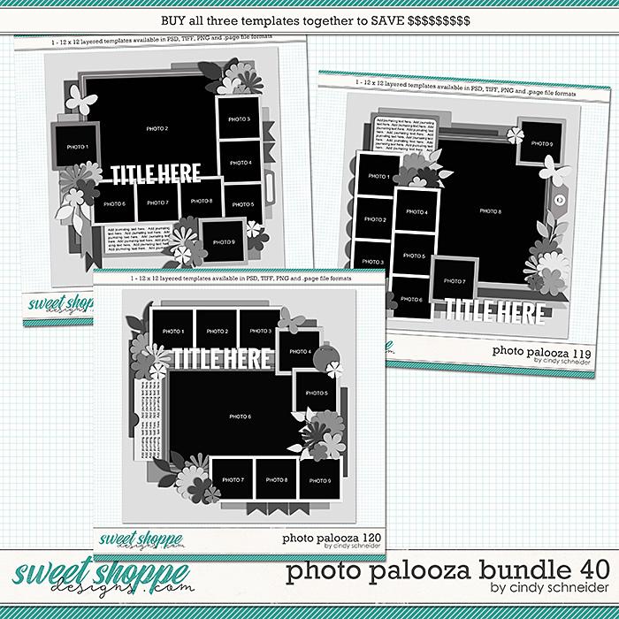Cindy's Layered Templates - Photo Palooza Bundle 40 by Cindy Schneider