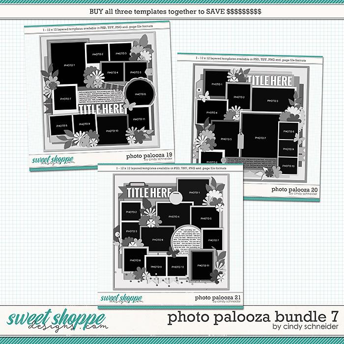 Cindy's Layered Templates - Photo Palooza Bundle 7 by Cindy Schneider