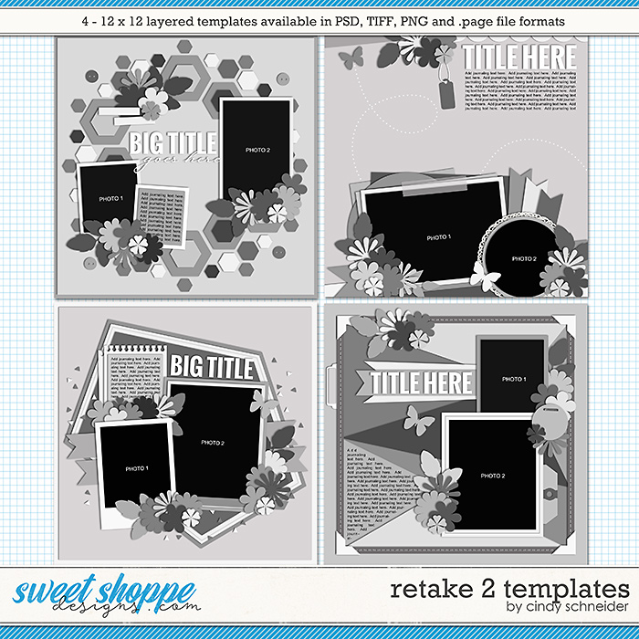 Cindy's Layered Templates - Retake Two by Cindy Schneider