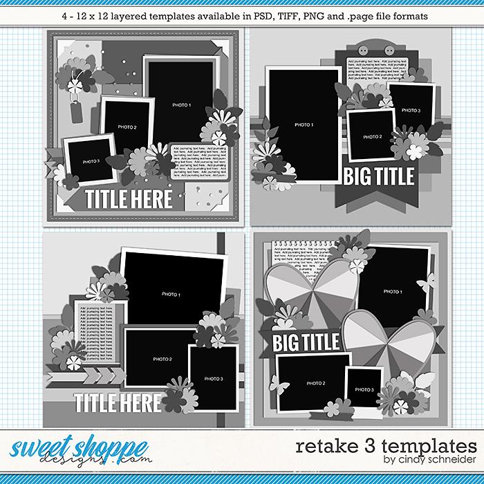 Cindy's Layered Templates - Retake Three by Cindy Schneider