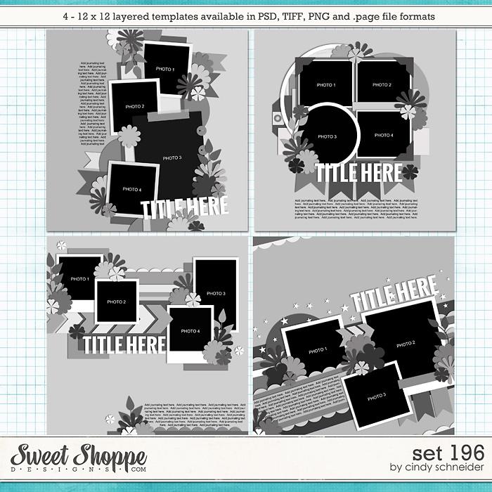 Cindy's Layered Templates - Set 196 by Cindy Schneider