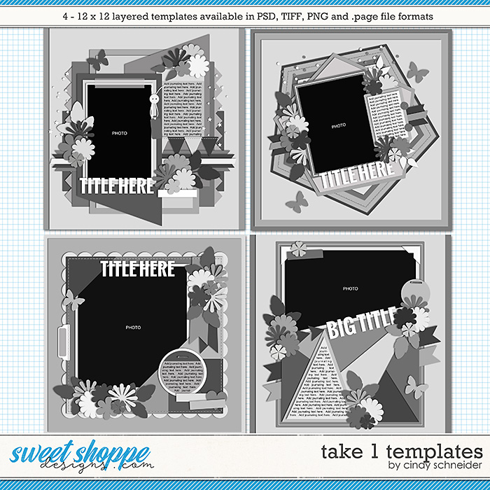 Cindy's Layered Templates - Take One by Cindy Schneider