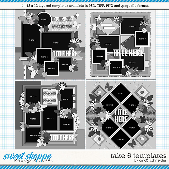 Cindy's Layered Templates - Take Six by Cindy Schneider