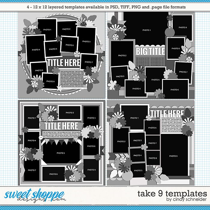 Cindy's Layered Templates - Take Nine by Cindy Schneider