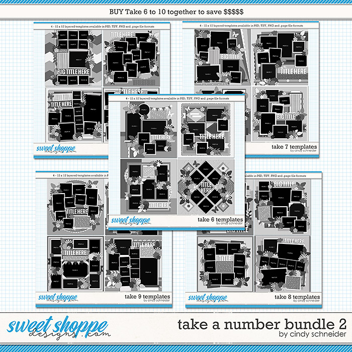 Take a Number Bundle 2 by Cindy Schneider