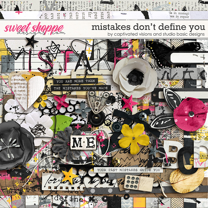 Mistakes Don't Define You by Captivated Visions & Studio Basic Designs