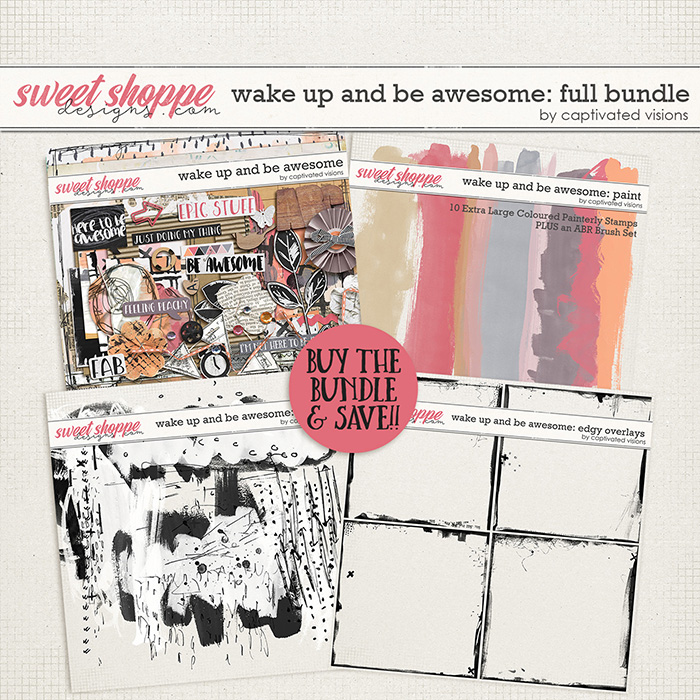 Wake Up and Be Awesome: Full Bundle by Captivated Visions