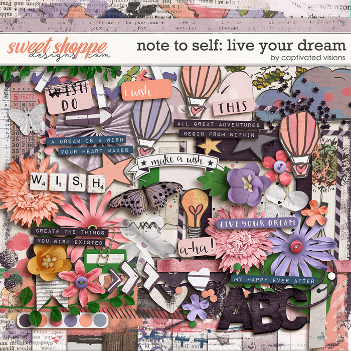 Note to self: Live your dream by Captivated Visions