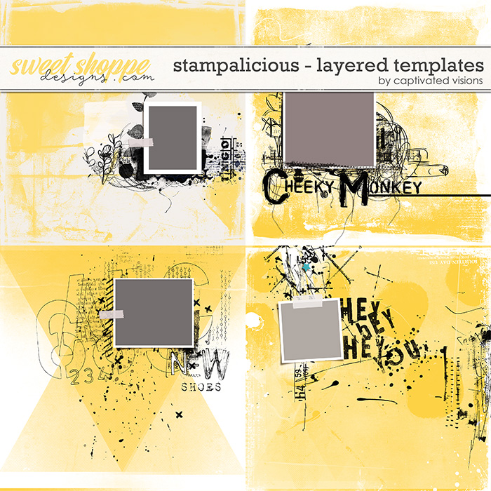 Stampalicious Layered Templates by Captivated Visions