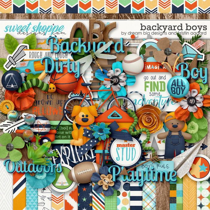 Backyard Boys by Dream Big Designs and Kristin Aagard