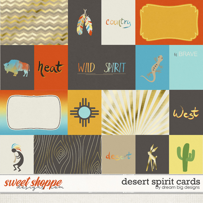 Desert Spirit Cards by Dream Big Designs