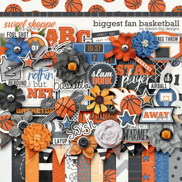 Biggest Fan Basketball by Dream Big Designs