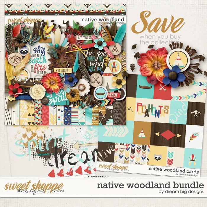 Native Woodland Bundle by Dream Big Designs