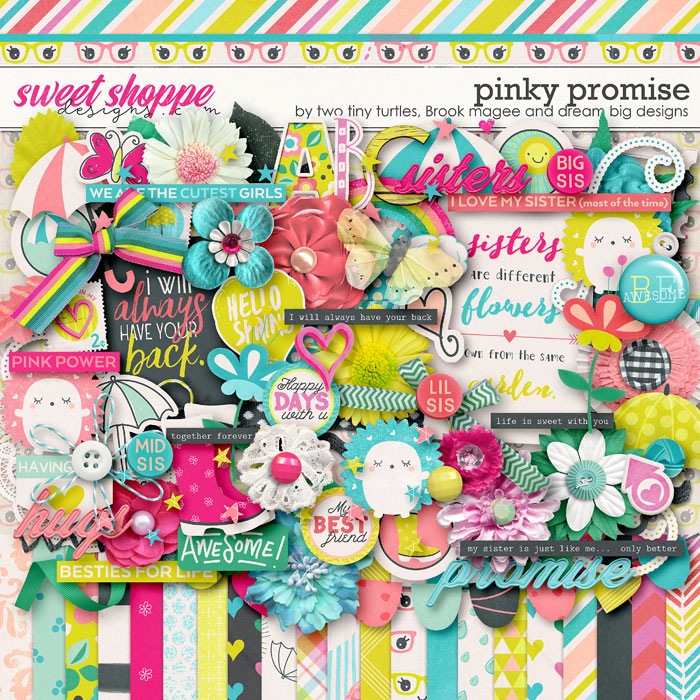 Pinky Promise by Brook Magee, Dream Big Designs & Two Tiny Turtles
