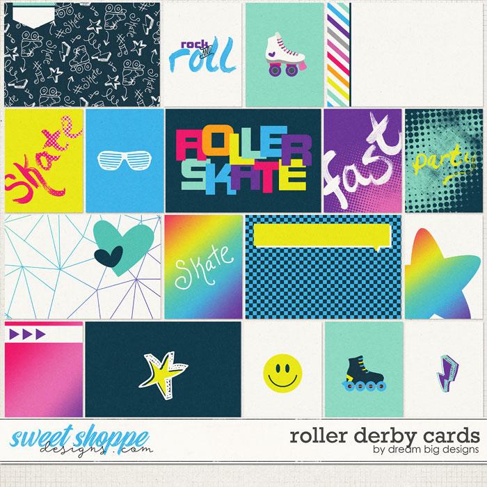 Roller Derby Cards by Dream Big Designs
