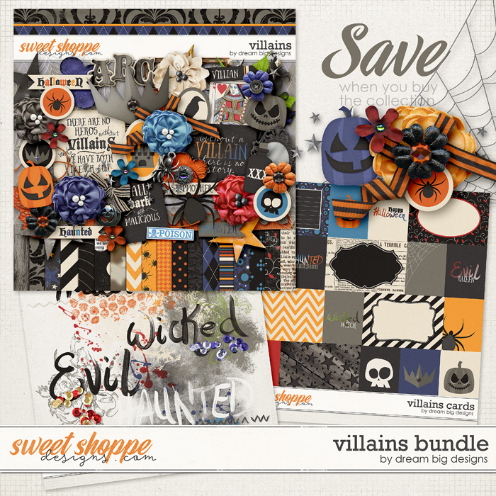 Villains Bundle by Dream Big Designs