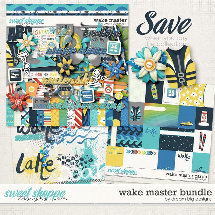 Wake Master Bundle by Dream Big Designs