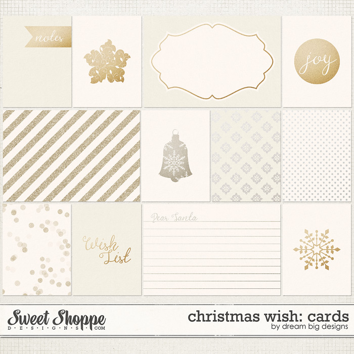 Christmas Wish: Cards by Dream Big Designs