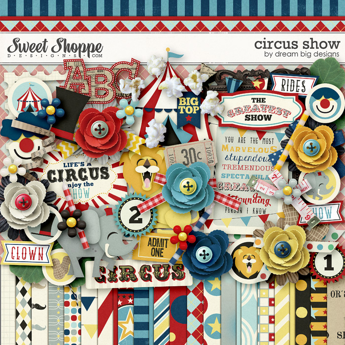 Circus Show by Dream Big Designs