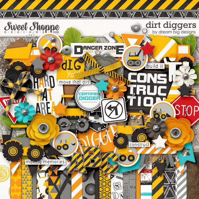 Dirt Diggers by Dream Big Designs