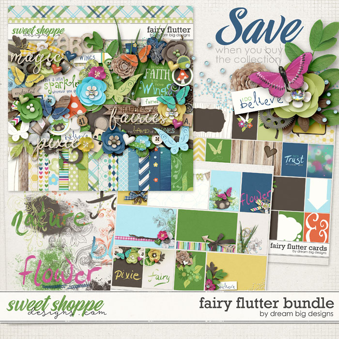 Fairy Flutter Bundle by Dream Big Designs