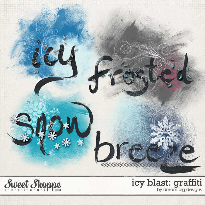 Icy Blast: Graffiti by Dream Big Designs